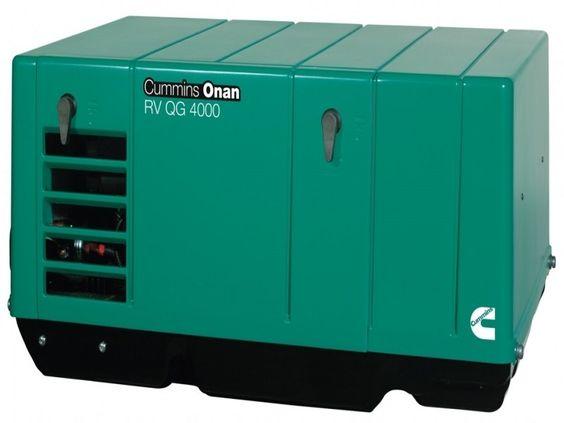 Cummins Onan Rv Qg 4000 Watt Generator Gasoline Rv 4kyfa26100 Diesel Generator For Sale Cummins Cummins Generators