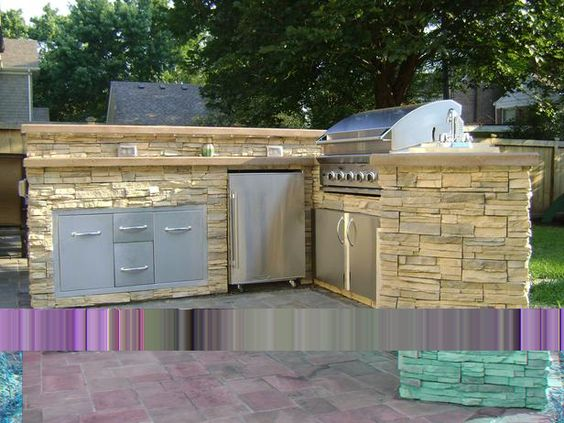 Outdoor kitchens on a budget can still be attractive and for Outdoor living ideas on a budget