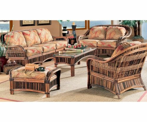Congo Furniture Set Wicker Living Room Furniture Indoor Wicker
