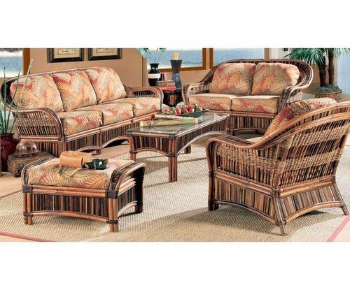 Congo Furniture Set Wicker Living Room Furniture Indoor Wicker