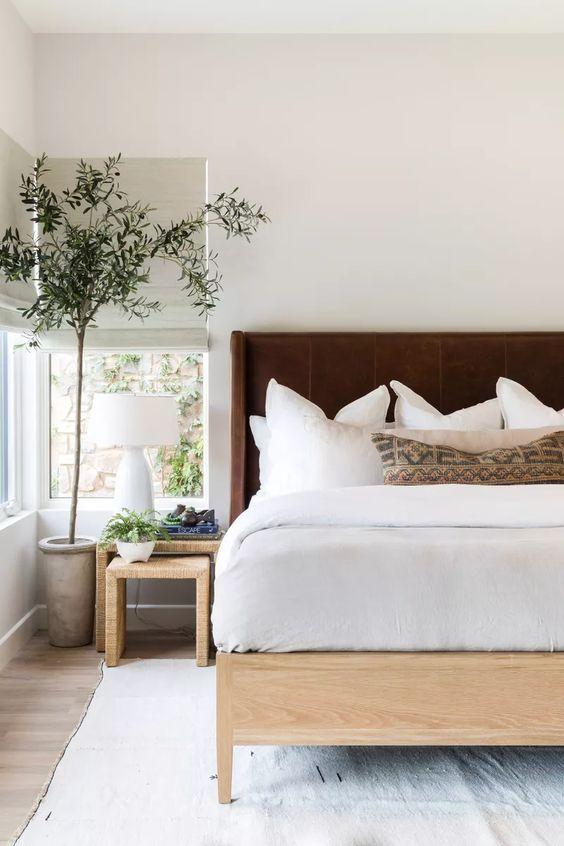 西海岸 カリフォルニア インテリア 寝室 ホテル コーディネート例