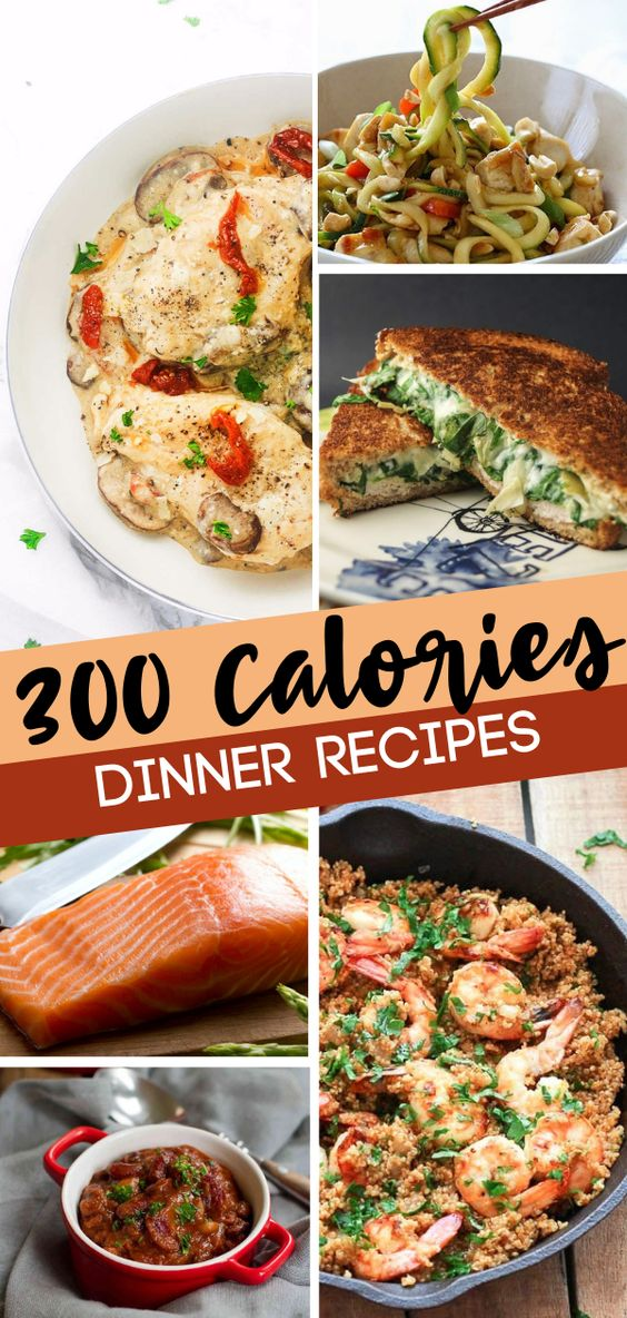 300 CALORIE OR LESS DINNERS