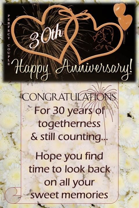 30th Wedding Anniversary Wishes In 2020 Wedding Anniversary Wishes 25th Wedding Anniversary Wishes 50th Wedding Anniversary Wishes
