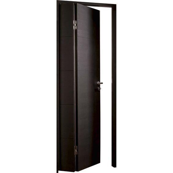 Porte pliante bois leroy merlin inspirations maison Pinterest - comment changer une porte