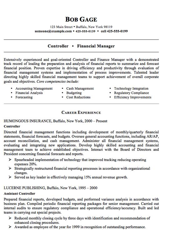 Office Manager Resume - http\/\/resumesdesign\/office-manager - Financial Manager Resume
