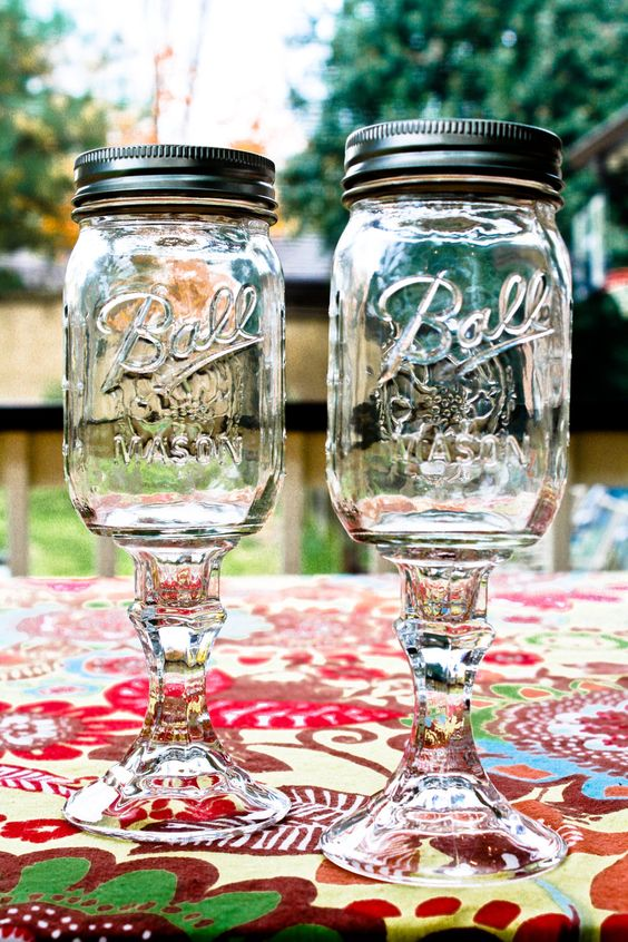 Redneck Wine Glasses LOVEEE