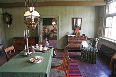 Boerderij zuid scharwoude in het openluchtmuseum arnhem for Boerderij interieur