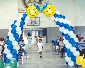 Fabulosas decoraciones con globos para tu graduaci n for Decoracion de grado
