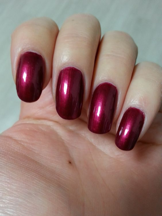 """11/52 Face It """"Wide Nails"""" RD301 (Dark wine)"""