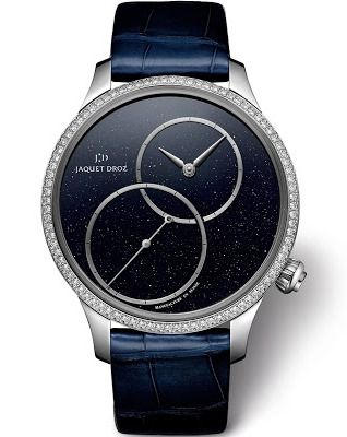 Jaquet Droz Grande Seconde Off-Centered Aventurine