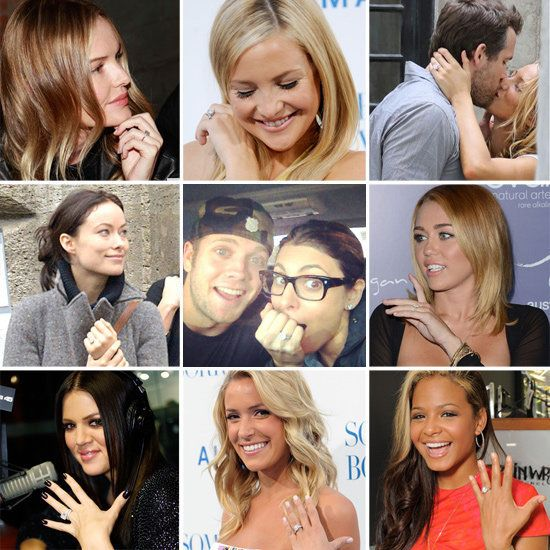 The ULTIMATE Celebrity Engagement Ring Slideshow!