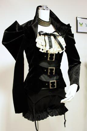 Neo-Victorian costume inspiriation for The Goblin Ball: Ice Kingdom. Saturday 22nd June 2013, Melbourne, Australia.