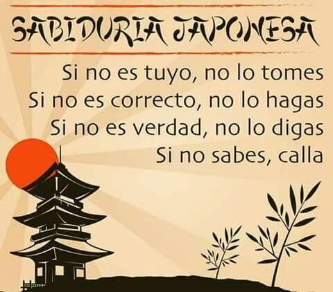 Sabiduria Japonesa Frases De Sabiduria Frases Y Frases