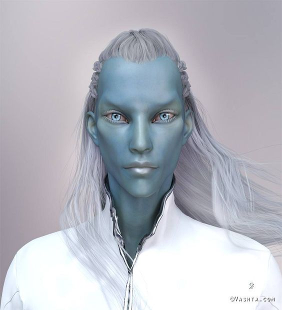 Astan, Pleiadian Ambassador for Lukasz He represents client's Higher Self / counterpart. He is non physical but presents himself as a blue humanoid sometimes. His form is not set. He
