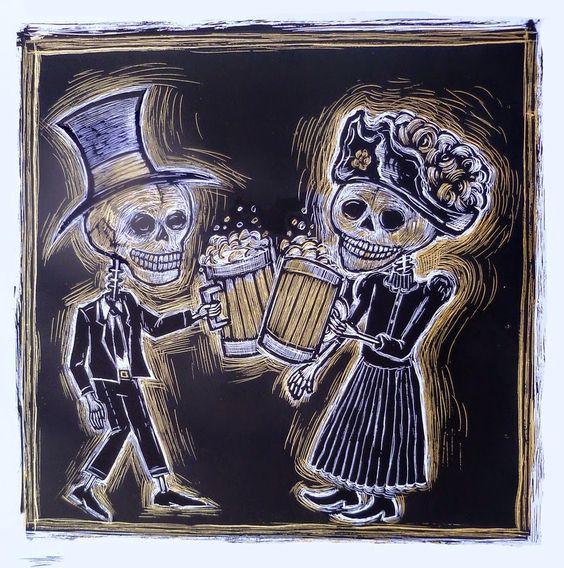 Dan Grzeca: Cervezas de los Muertos
