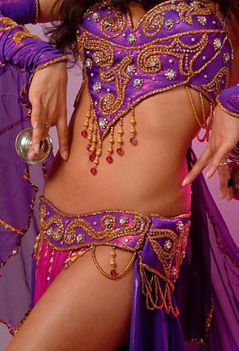 # BELLY DANCE COSTUME LOVE THE COLOR COMBINATION