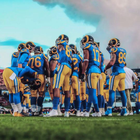 Los Angeles Rams Los Angeles Rams Rams Football Football Images