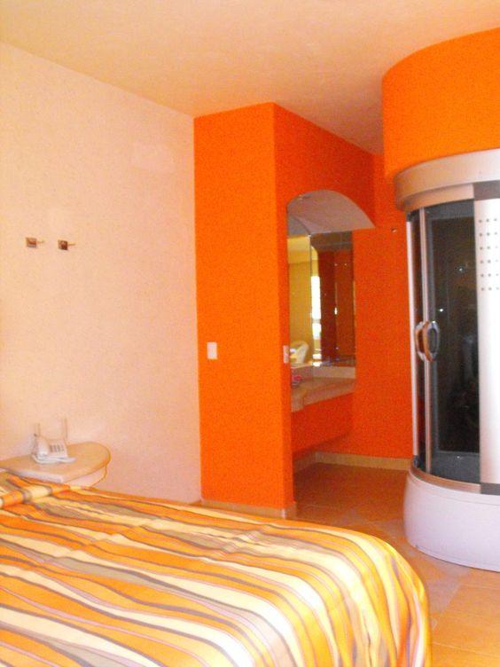 Pasta naranja en recamaras jpg 768 1024 mandarina for Catalogo pinturas interior