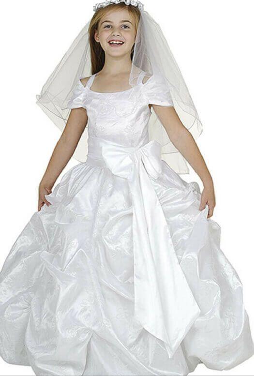 أجمل فساتين أفراح أطفال احدث موديلات فساتين الزفاف للاطفال موضوع يهمك White Flower Girl Dresses Flower Girl Dresses Dresses