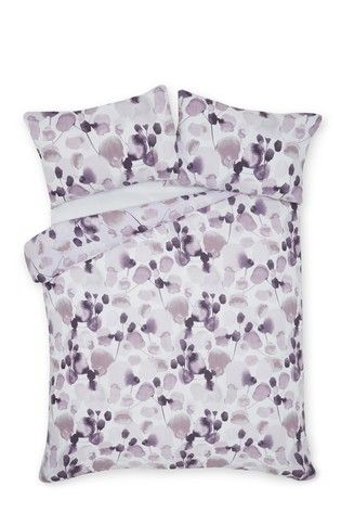 Buy Blurred Floral Bed Set From The Next Uk Online Shop Bedding Sets Bed Matching Bedding And Curtains