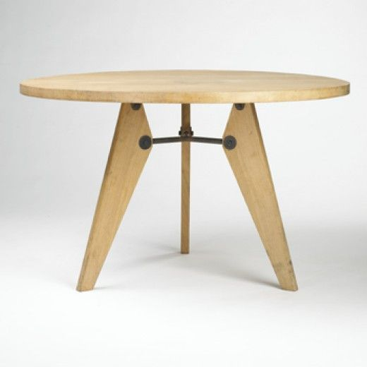 Dining Table Manufactured By Les Ateliers Jean Prouv France 1946 20th C Furniture Design