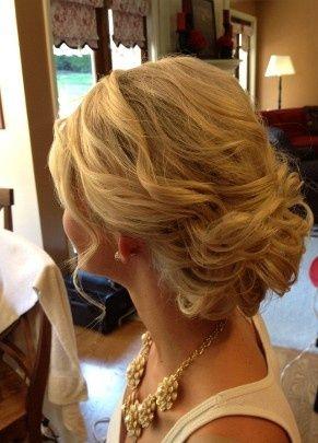 Pretty wedding updo - My wedding ideas
