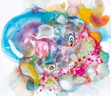 "Saatchi Art Artist Amanda Krantz; Painting, ""Conglomerate 1"" #art"