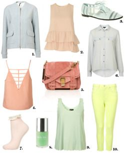 Lovin the pastel look this spring