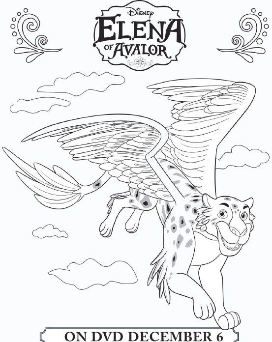 Elena Of Avalor Coloring Sheets Amp More