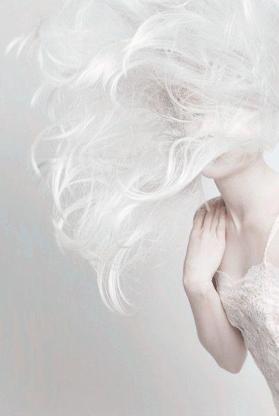 White Hair .....❤