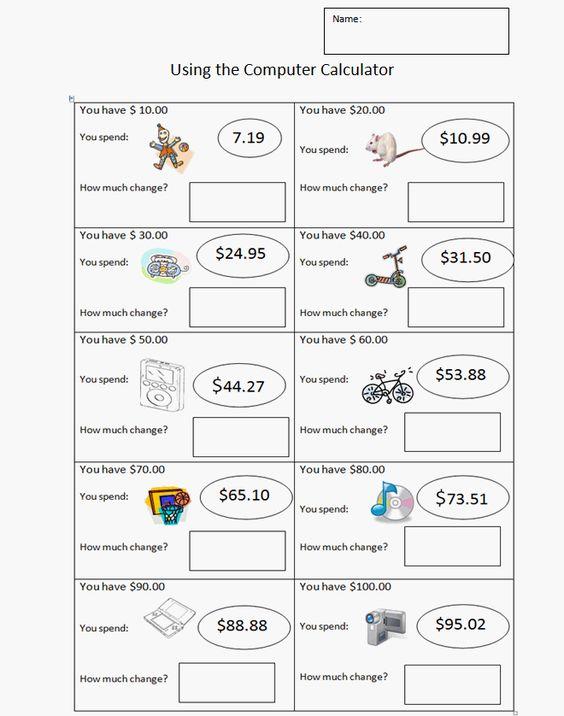 math worksheet : third grade money worksheet  k 5 computer lab technology lessons  : K 5 Math Worksheets