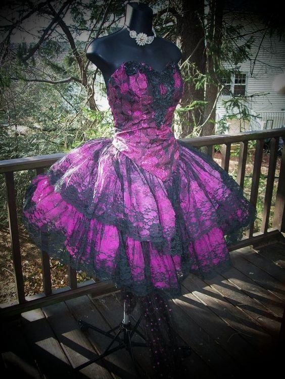 Prom dress trends 80