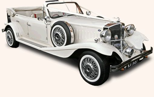 Beauford Open Tourer:The Beauford is an open Tourer - vintage car, in old English white colour, 4-door model, finished in cream leather interior. The ideal and prestigious car with all the looks of a classic 1930's era! The hood is well fitted and ensures comfort in bad weather.