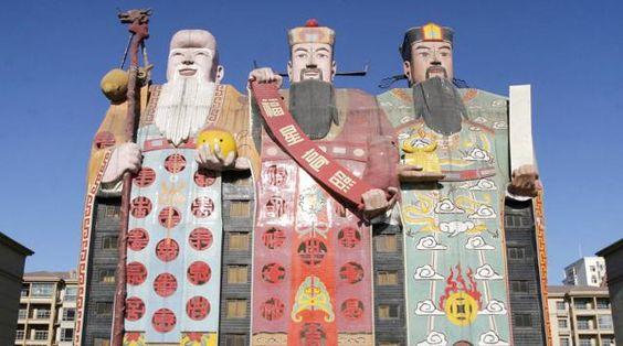 Los edificios más curiosos que han brotado de la imaginación de los magnates chinos http://bit.ly/1dHJL5y