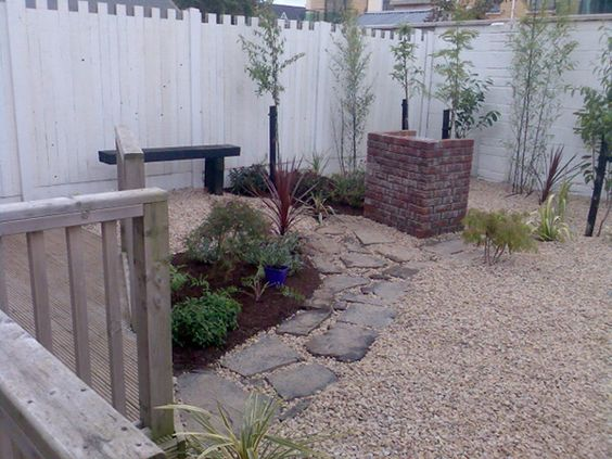Easy maintenance landscaping small garden ideas 25 for Large low maintenance garden