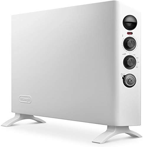 Buy Delonghi Convector Panel Heater Full Room Quiet 1500w Freestanding Easy Install Wall Mount Adjustable Thermostat Programmable Timer White Slim Style Onl In 2020 Best Space Heater Heater Portable Heater