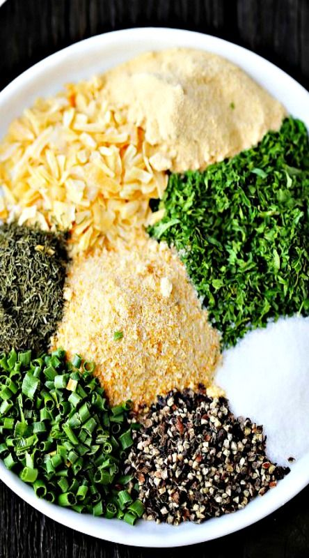 Homemade Ranch Seasoning -*3 Tablespoons of this mix = 1 packet of the store-bought seasoning mix. Add milk and mayo or greek yogurt to complete the recipe. Dry mix will store for up to 3 months.