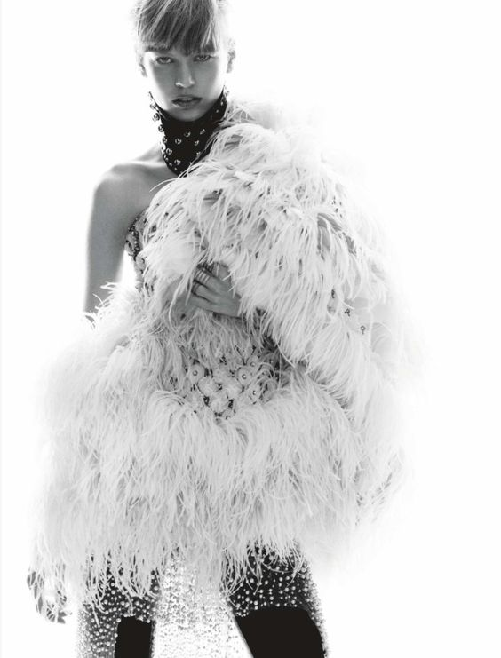 Elisabeth Erm by Greg Kadel for Numero # 149 December / January 13.14