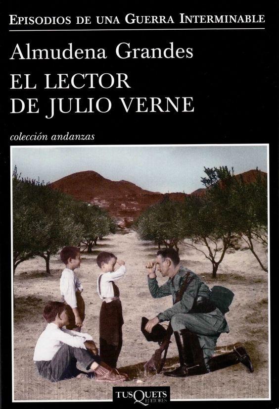 Resultado de imagen de libro El lector de Julio Verne