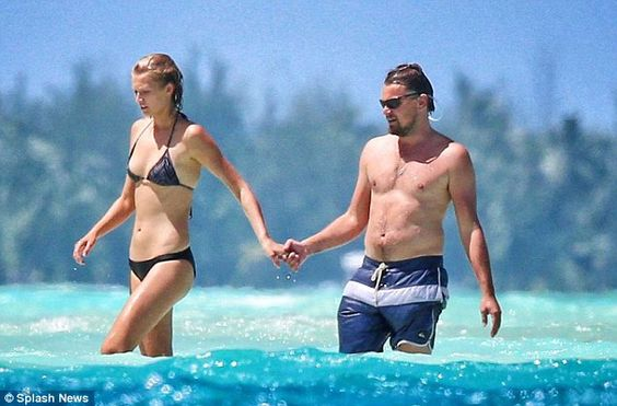 Toni Garrn - Topless at the beach with Leonardo DiCaprio - http://www.icelev.com/toni-garrn-topless-beach-leonardo-dicaprio/ - Icelev.com, true paradise on earth