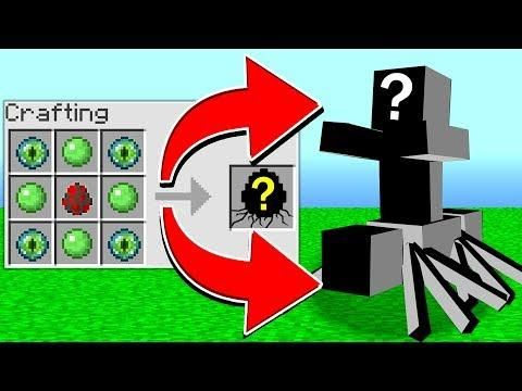 Crafting The Mutant Spawn Egg In Minecraft Secret Minecraft Creations Diy Minecraft Minecraft Secrets