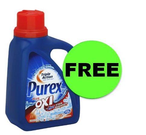 Wash Up Grab Free Purex Detergent Print Now At Cvs This Week