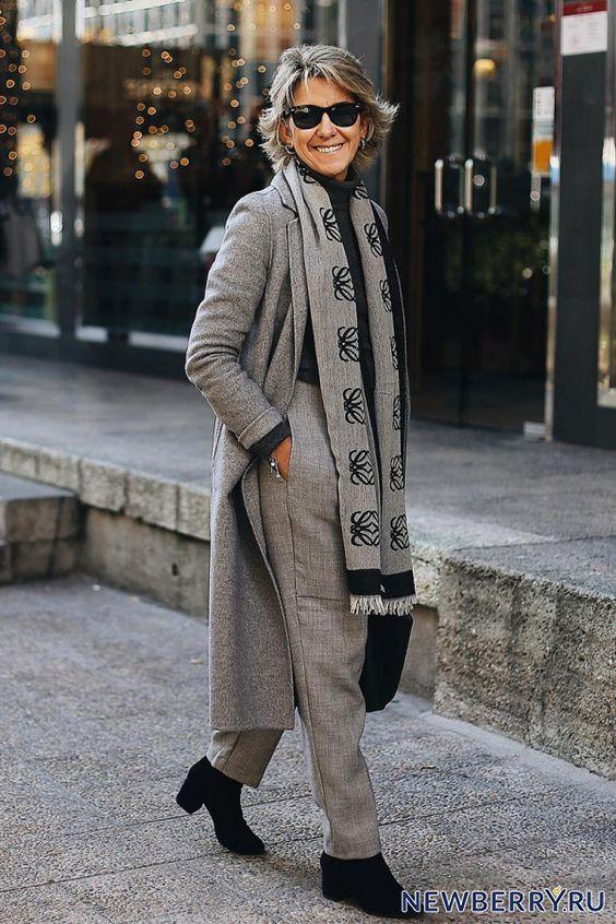 Модные образы в брюках для женщин за 50 от Margarita Argüelles | Новости моды