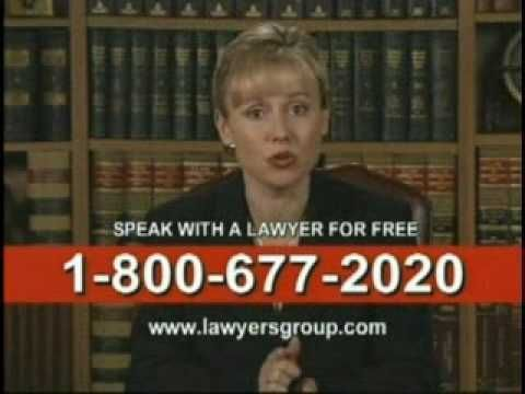 1 Personal Injury Lawyer Tv Commercial Youtube Tv Commercials