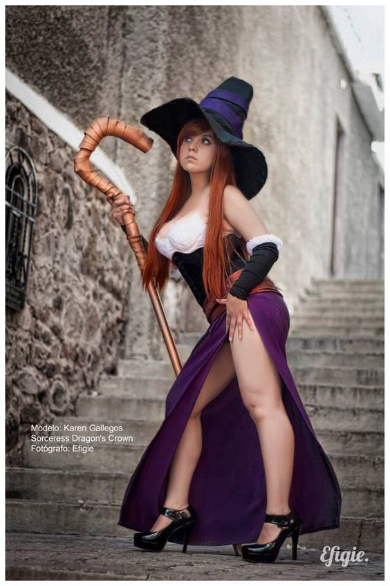 The Sorceress - Dragon's Crown