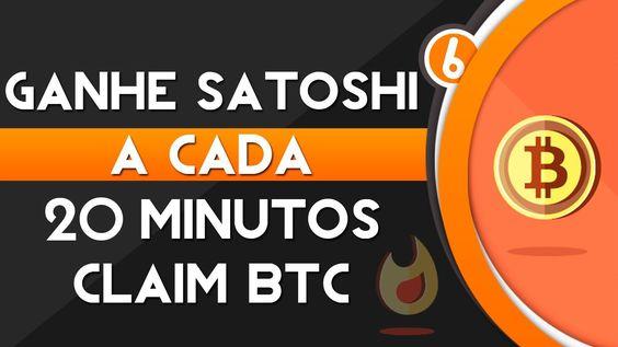 Como ganhar bitcoins grátis  (satoshis a cada 20min.)
