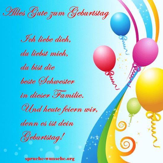 Geburtstagswunsche Fur Unsere Schwester New 125 Beste