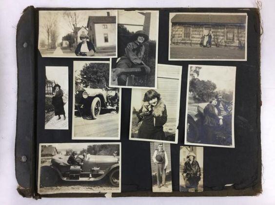 "Antique Historical Cheyenne Frontier Days, Charles Burton ""Cowboy Charlie"" Irwin Souvenir Photograph Book JUNE 25 2016"