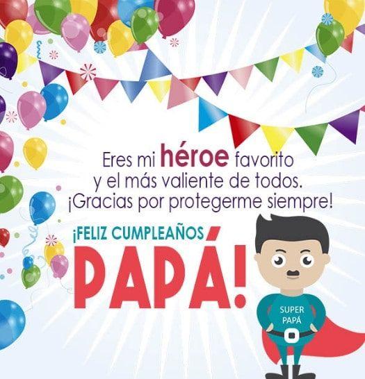 Imagenes De Cumpleaños Para Mi Papa Feliz Cumpleaños Papa