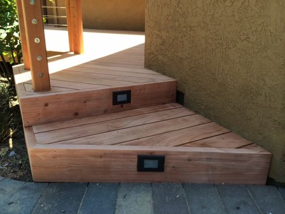 Best Stair Lights For Your Redwood Or Composite Deck Our 640 x 480